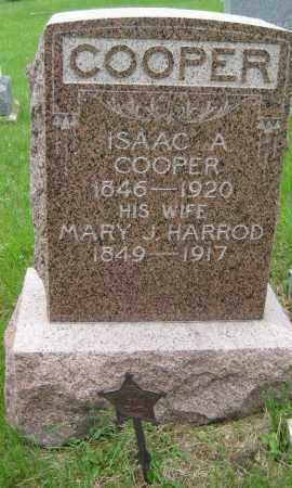 COOPER, ISAAC A. - Saline County, Nebraska | ISAAC A. COOPER - Nebraska Gravestone Photos