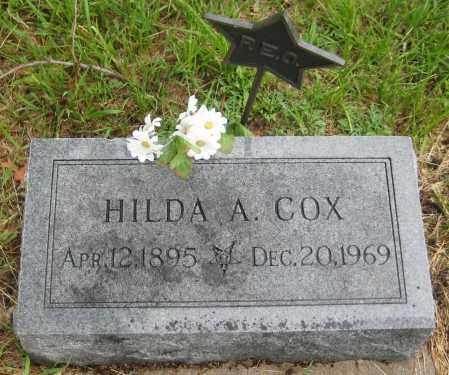 COX, HILDA A. - Saline County, Nebraska | HILDA A. COX - Nebraska Gravestone Photos