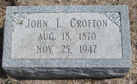 CROFTON, JOHN L. - Saline County, Nebraska | JOHN L. CROFTON - Nebraska Gravestone Photos