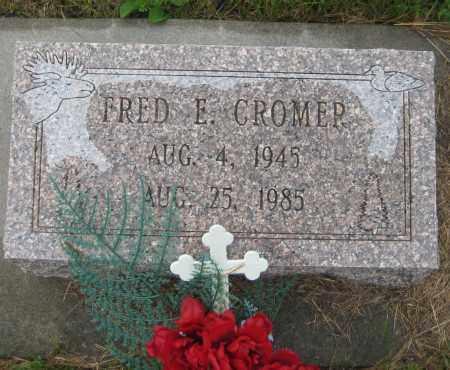 CROMER, FRED E. - Saline County, Nebraska   FRED E. CROMER - Nebraska Gravestone Photos