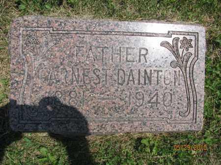 DAINTON, EARNEST AARON - Saline County, Nebraska | EARNEST AARON DAINTON - Nebraska Gravestone Photos