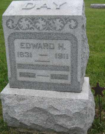 DAY, EDWARD H. - Saline County, Nebraska | EDWARD H. DAY - Nebraska Gravestone Photos