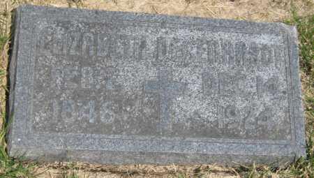 DEGENHARDT, ELIZABETH - Saline County, Nebraska   ELIZABETH DEGENHARDT - Nebraska Gravestone Photos