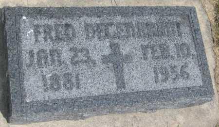 DEGENHARDT, FRED - Saline County, Nebraska | FRED DEGENHARDT - Nebraska Gravestone Photos