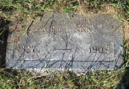 DENNY, LAURA ANN - Saline County, Nebraska | LAURA ANN DENNY - Nebraska Gravestone Photos