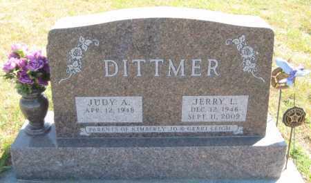 DITTMER, JUDY A. - Saline County, Nebraska   JUDY A. DITTMER - Nebraska Gravestone Photos