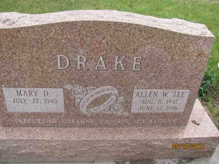 DRAKE, MARY D. - Saline County, Nebraska | MARY D. DRAKE - Nebraska Gravestone Photos