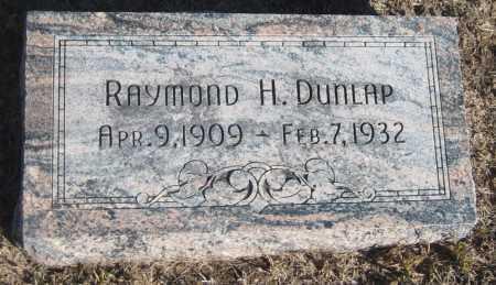DUNLAP, RAYMOND H. - Saline County, Nebraska | RAYMOND H. DUNLAP - Nebraska Gravestone Photos