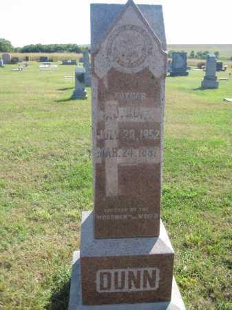 DUNN, NJ - Saline County, Nebraska   NJ DUNN - Nebraska Gravestone Photos