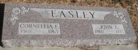 EASLEY, JOHN E. - Saline County, Nebraska   JOHN E. EASLEY - Nebraska Gravestone Photos