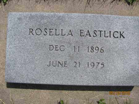 ALLENSWORTH EASTLICK, ROSELLA - Saline County, Nebraska | ROSELLA ALLENSWORTH EASTLICK - Nebraska Gravestone Photos