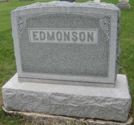 EDMONSON, FAMILY MONUMENT - Saline County, Nebraska | FAMILY MONUMENT EDMONSON - Nebraska Gravestone Photos
