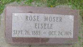 EISELE, ROSE - Saline County, Nebraska | ROSE EISELE - Nebraska Gravestone Photos