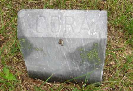 ELDRED, CORA - Saline County, Nebraska | CORA ELDRED - Nebraska Gravestone Photos