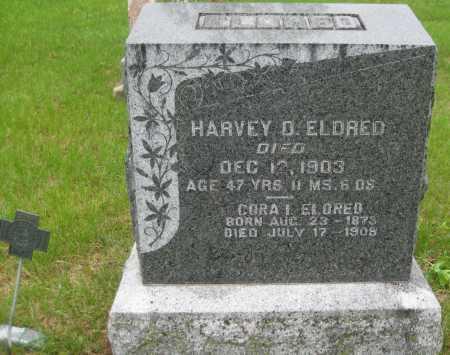 ELDRED, CORA I. - Saline County, Nebraska | CORA I. ELDRED - Nebraska Gravestone Photos