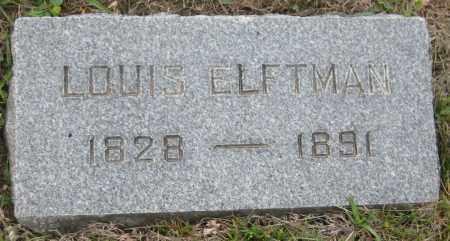 ELFTMAN, LOUIS - Saline County, Nebraska | LOUIS ELFTMAN - Nebraska Gravestone Photos