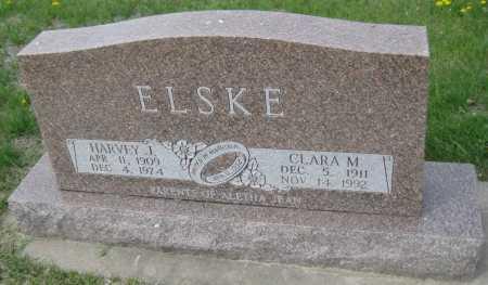 ELSKE, HARVEY J. - Saline County, Nebraska | HARVEY J. ELSKE - Nebraska Gravestone Photos