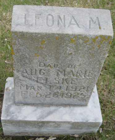 ELSKE, LEONA M. - Saline County, Nebraska | LEONA M. ELSKE - Nebraska Gravestone Photos