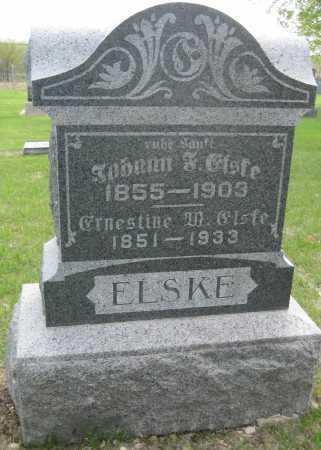 ELSKE, ERNESTINE W. - Saline County, Nebraska | ERNESTINE W. ELSKE - Nebraska Gravestone Photos