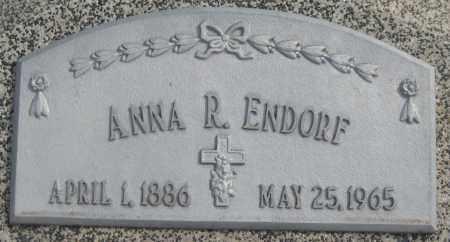 ENDORF, ANNA R. - Saline County, Nebraska   ANNA R. ENDORF - Nebraska Gravestone Photos