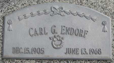 ENDORF, CARL G. - Saline County, Nebraska | CARL G. ENDORF - Nebraska Gravestone Photos