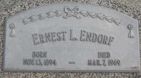 ENDORF, ERNEST L. - Saline County, Nebraska | ERNEST L. ENDORF - Nebraska Gravestone Photos
