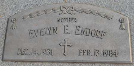 ENDORF, EVELYN E. - Saline County, Nebraska | EVELYN E. ENDORF - Nebraska Gravestone Photos