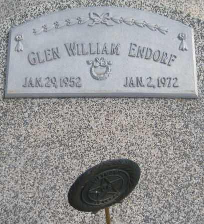 ENDORF, GLEN WILLIAM - Saline County, Nebraska | GLEN WILLIAM ENDORF - Nebraska Gravestone Photos