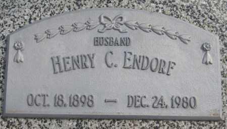 ENDORF, HENRY C. - Saline County, Nebraska | HENRY C. ENDORF - Nebraska Gravestone Photos