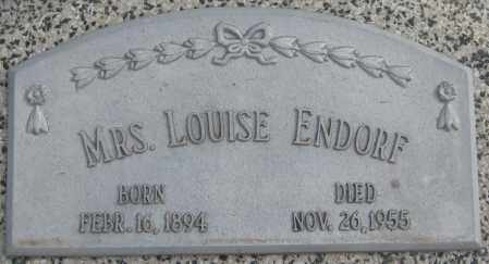 "ENDORF, CAROLINE ""LOUISE"" - Saline County, Nebraska   CAROLINE ""LOUISE"" ENDORF - Nebraska Gravestone Photos"