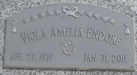 ENDORF, VIOLA AMELIA - Saline County, Nebraska   VIOLA AMELIA ENDORF - Nebraska Gravestone Photos