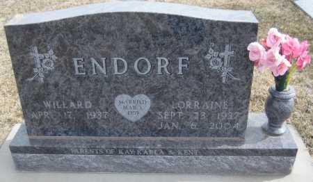ENDORF, LORRAINE - Saline County, Nebraska   LORRAINE ENDORF - Nebraska Gravestone Photos