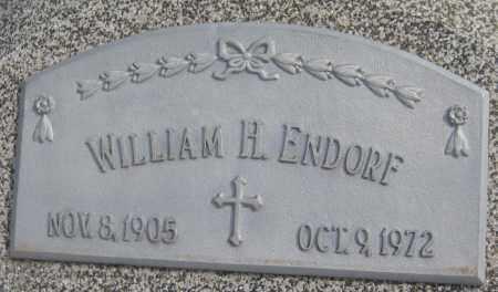 ENDORF, WILLIAM H. - Saline County, Nebraska | WILLIAM H. ENDORF - Nebraska Gravestone Photos