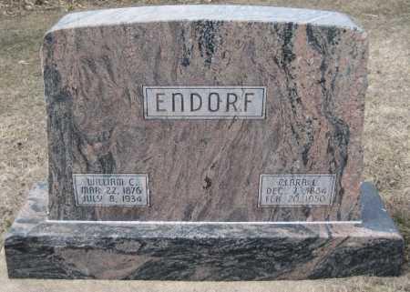 "ENDORF, WILHELM CONRAD ""WILLIAM"" - Saline County, Nebraska | WILHELM CONRAD ""WILLIAM"" ENDORF - Nebraska Gravestone Photos"