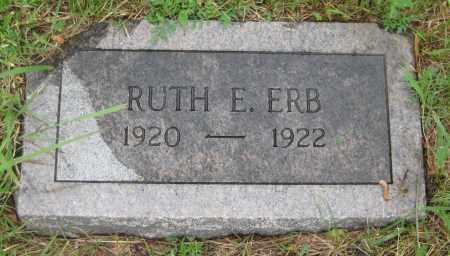 ERB, RUTH E. - Saline County, Nebraska   RUTH E. ERB - Nebraska Gravestone Photos