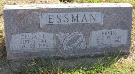 ESSMAN, CELIA J. - Saline County, Nebraska | CELIA J. ESSMAN - Nebraska Gravestone Photos