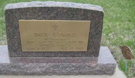 EWING, DALE D. - Saline County, Nebraska | DALE D. EWING - Nebraska Gravestone Photos