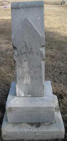 EWING, MARTHA E. - Saline County, Nebraska | MARTHA E. EWING - Nebraska Gravestone Photos