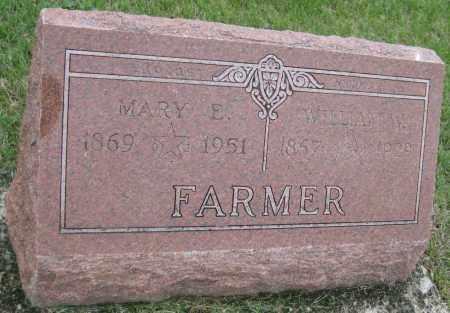 FARMER, MARY E. - Saline County, Nebraska   MARY E. FARMER - Nebraska Gravestone Photos