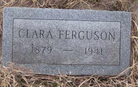 FERGUSON, CLARA - Saline County, Nebraska | CLARA FERGUSON - Nebraska Gravestone Photos