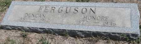 FERGUSON, HONORE - Saline County, Nebraska | HONORE FERGUSON - Nebraska Gravestone Photos