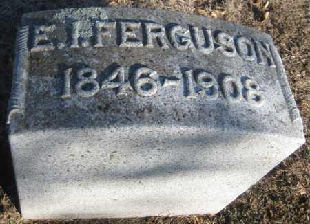 FERGUSON, E. I. - Saline County, Nebraska | E. I. FERGUSON - Nebraska Gravestone Photos
