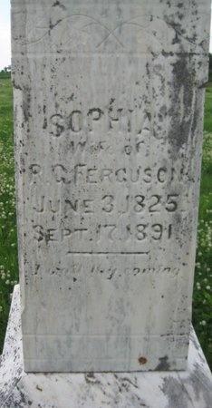 FERGUSON, SOPHIA - Saline County, Nebraska | SOPHIA FERGUSON - Nebraska Gravestone Photos