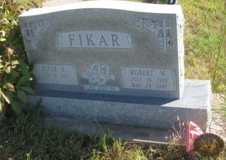 FIKAR, BETTY L. - Saline County, Nebraska | BETTY L. FIKAR - Nebraska Gravestone Photos