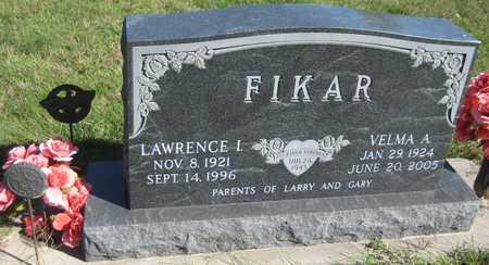 FIKAR, VELMA A. - Saline County, Nebraska | VELMA A. FIKAR - Nebraska Gravestone Photos