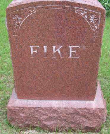 FIKE, FAMILY STONE - Saline County, Nebraska | FAMILY STONE FIKE - Nebraska Gravestone Photos