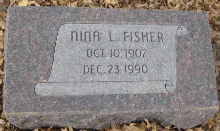 BERGESON FISHER, NINA L. - Saline County, Nebraska | NINA L. BERGESON FISHER - Nebraska Gravestone Photos