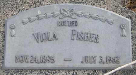 FISHER, VIOLA MARIE - Saline County, Nebraska | VIOLA MARIE FISHER - Nebraska Gravestone Photos