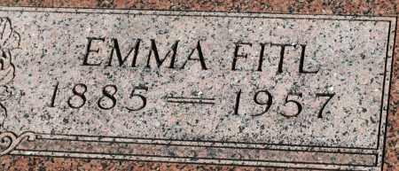 FITL, EMMA - Saline County, Nebraska | EMMA FITL - Nebraska Gravestone Photos