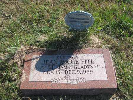 FITL, JEAN MARIE - Saline County, Nebraska | JEAN MARIE FITL - Nebraska Gravestone Photos